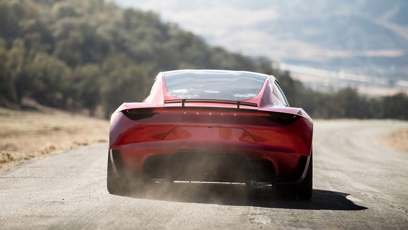 Elon Musk představil další bláznivou vizi. Příští Tesla Roadster se prý bude vznášet: - fotka 13