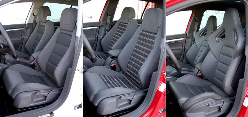 """Test: Golf GT vs. Golf GTI vs. Golf R32 – jsou všechny """"hot""""?: - fotka 4"""
