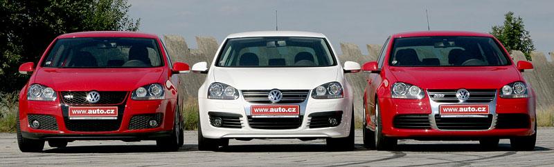 """Test: Golf GT vs. Golf GTI vs. Golf R32 – jsou všechny """"hot""""?: - fotka 10"""