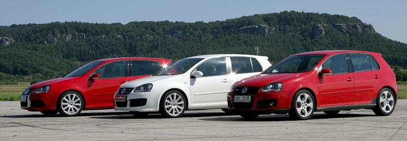 """Test: Golf GT vs. Golf GTI vs. Golf R32 – jsou všechny """"hot""""?: - fotka 14"""