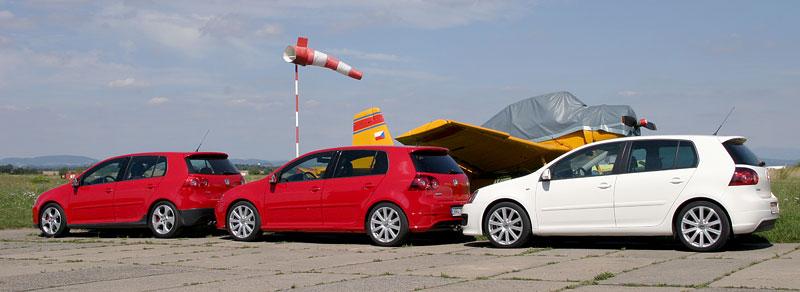 """Test: Golf GT vs. Golf GTI vs. Golf R32 – jsou všechny """"hot""""?: - fotka 25"""