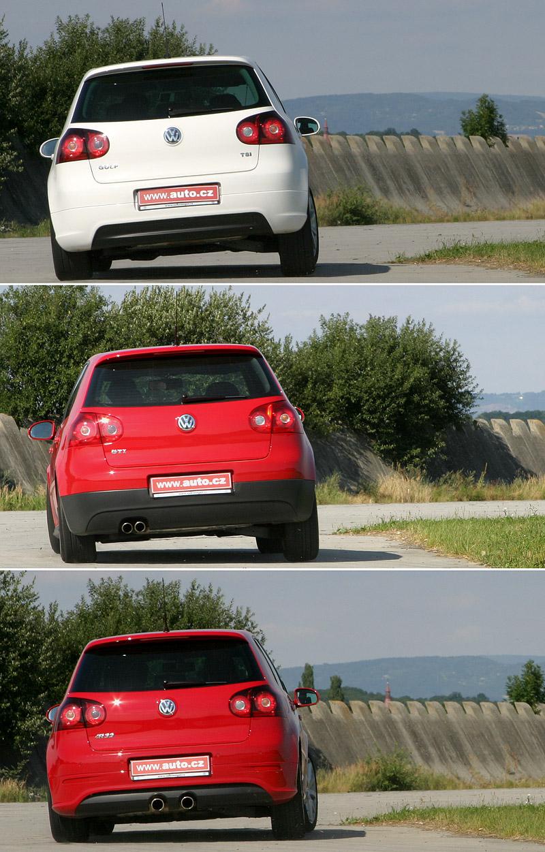"""Test: Golf GT vs. Golf GTI vs. Golf R32 – jsou všechny """"hot""""?: - fotka 28"""