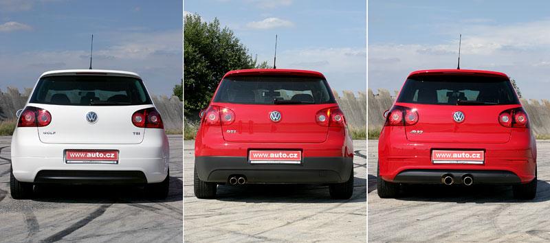 """Test: Golf GT vs. Golf GTI vs. Golf R32 – jsou všechny """"hot""""?: - fotka 29"""