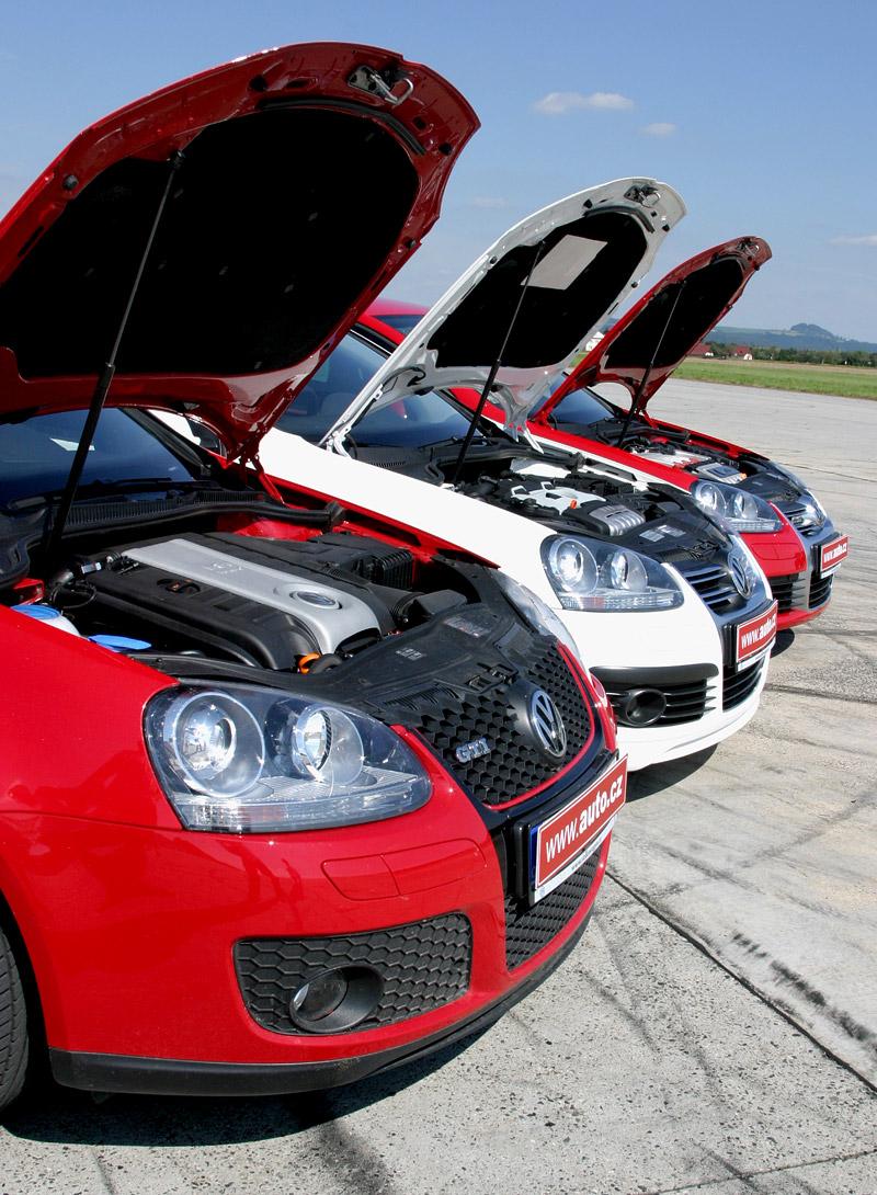 """Test: Golf GT vs. Golf GTI vs. Golf R32 – jsou všechny """"hot""""?: - fotka 31"""
