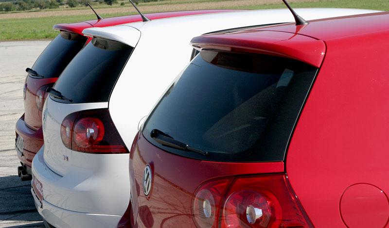 """Test: Golf GT vs. Golf GTI vs. Golf R32 – jsou všechny """"hot""""?: - fotka 37"""