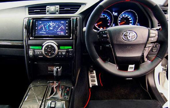 Toyota Mark X G Sports Concept: ostrý prémiový sedan pro Japonsko: - fotka 1