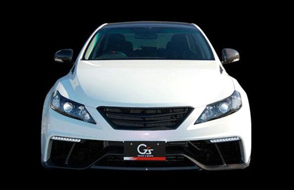 Toyota Mark X G Sports Concept: ostrý prémiový sedan pro Japonsko: - fotka 2