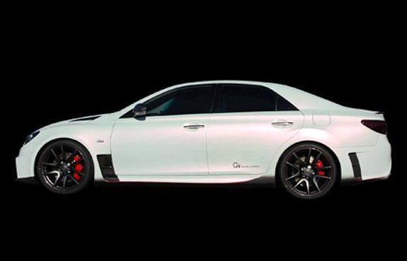Toyota Mark X G Sports Concept: ostrý prémiový sedan pro Japonsko: - fotka 4