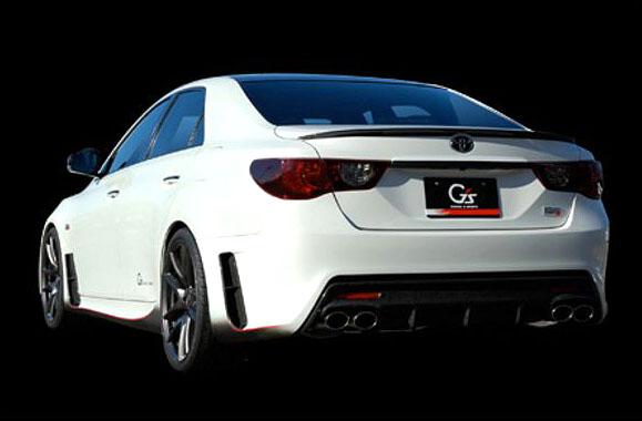 Toyota Mark X G Sports Concept: ostrý prémiový sedan pro Japonsko: - fotka 5