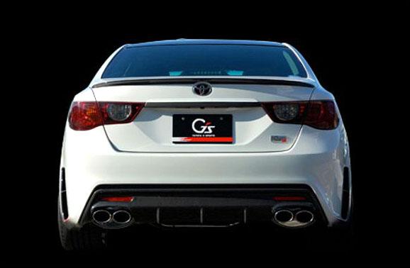 Toyota Mark X G Sports Concept: ostrý prémiový sedan pro Japonsko: - fotka 6