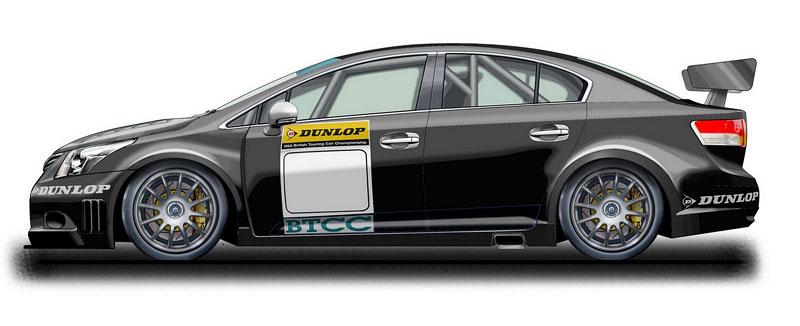 Toyota staví závodní avensis pro BTCC: - fotka 2