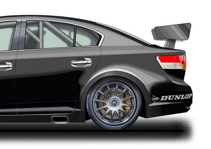 Toyota staví závodní avensis pro BTCC: - fotka 3