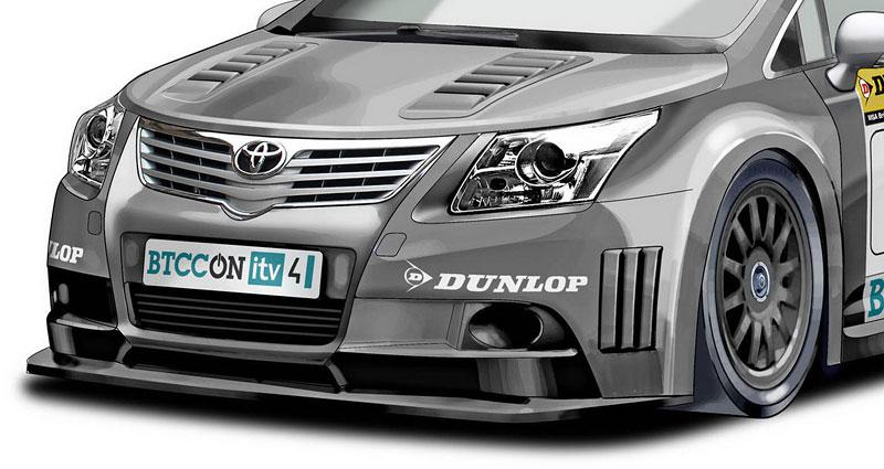Toyota staví závodní avensis pro BTCC: - fotka 4