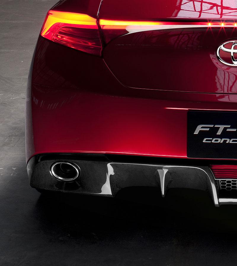 Toyota FT-86: další evoluční stupeň do Ženevy: - fotka 40