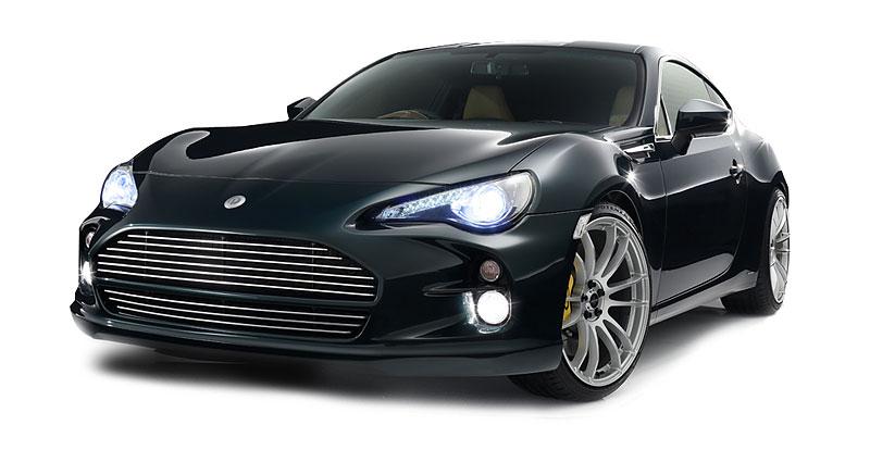DAMD 86 Vantage: Hachi-roku ve stylu Aston Martinu: - fotka 14