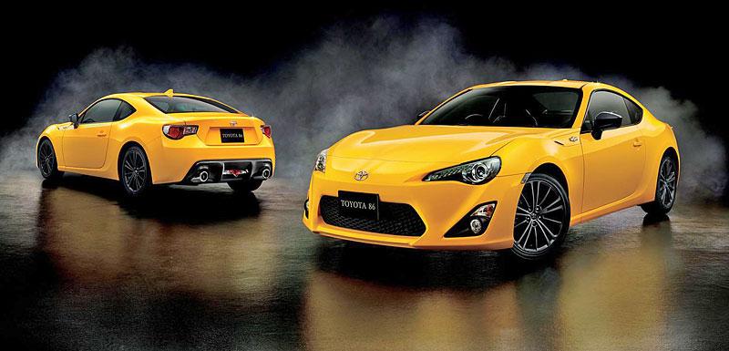 Toyota 86 Yellow Limited: Japonská vosa: - fotka 5