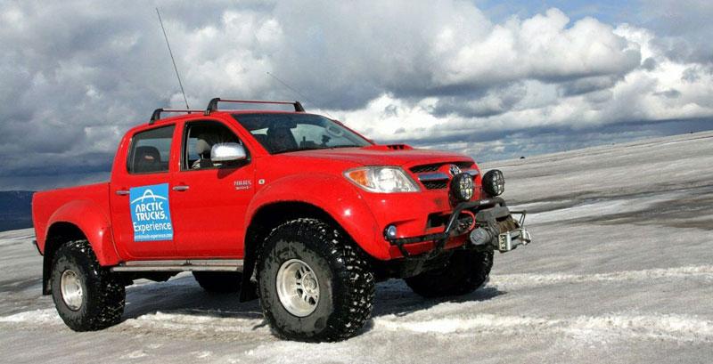 Toyota Hilux Arctic Truck AT38: vzhůru na severní pól: - fotka 3