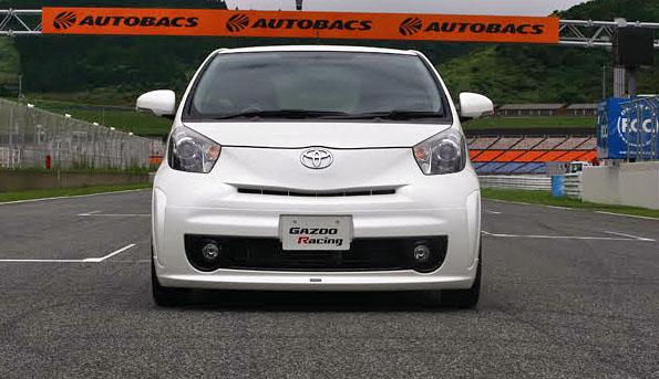 Toyota iQ by Gazoo: malej ale šikovnej: - fotka 5