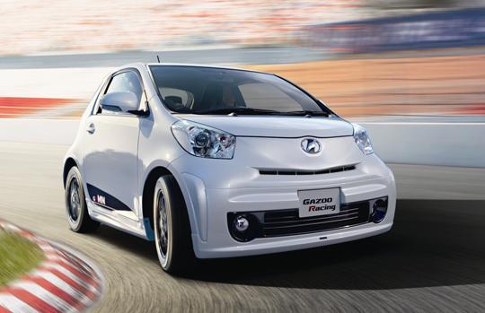 Toyota iQ by Gazoo: malej ale šikovnej: - fotka 7