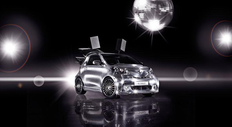 Toyota iQ Disco: mobilní diskotéka: - fotka 4