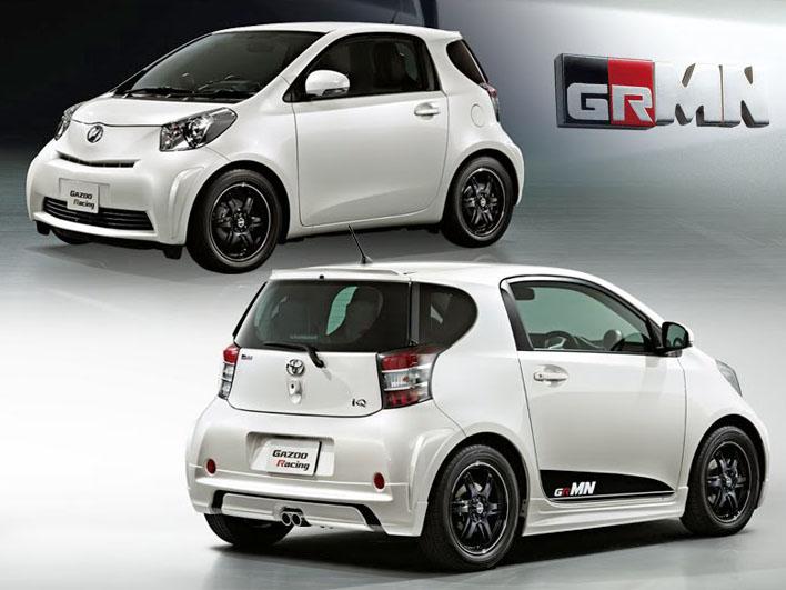 Toyota iQ by Gazoo: malej ale šikovnej: - fotka 11
