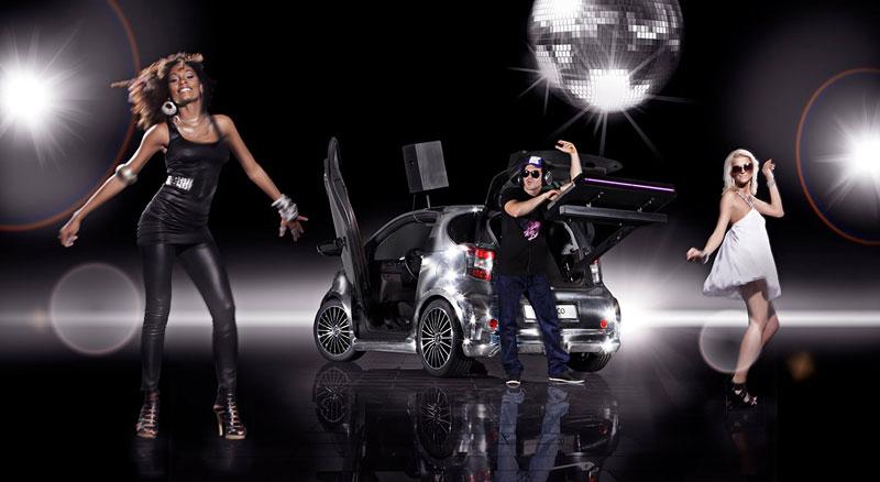 Toyota iQ Disco: mobilní diskotéka: - fotka 9