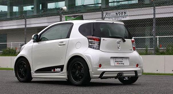 Toyota iQ by Gazoo: malej ale šikovnej: - fotka 13