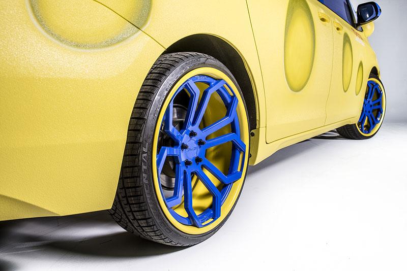 Toyota Sienna SpongeBob: MPV v outfitu oblíbeného animáku: - fotka 5