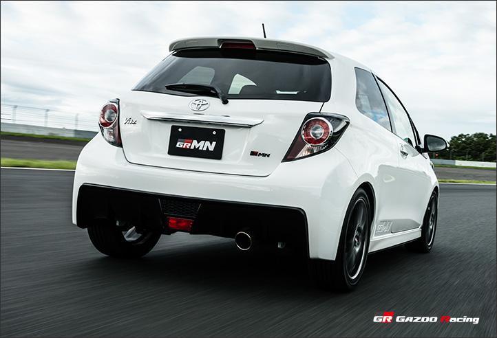 Toyota Vitz GRMN Turbo aneb ostrý Yaris pro Japonsko: - fotka 15