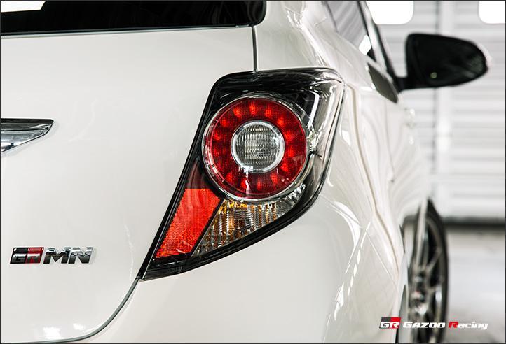 Toyota Vitz GRMN Turbo aneb ostrý Yaris pro Japonsko: - fotka 20