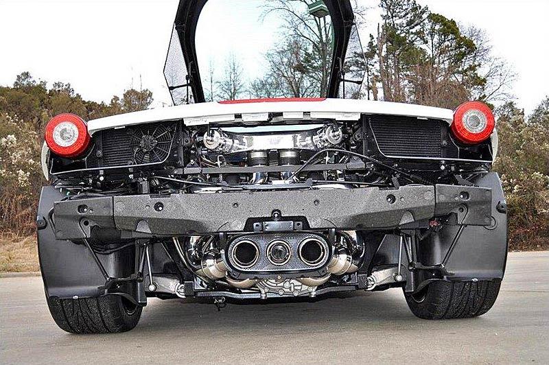 Underground Racing: Ferrari 458 Italia se dvěma turby!: - fotka 7