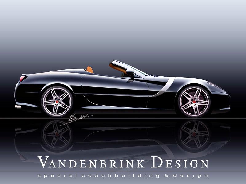 Vandenbrink GT Convertible: otevřené Ferrari 599 GTB: - fotka 1