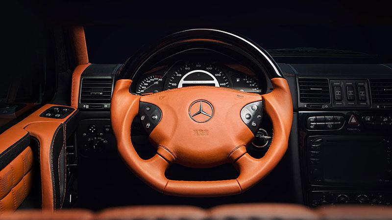 Mercedes-Benz G 55 AMG s pěknou porcí luxusu v interiéru: - fotka 1