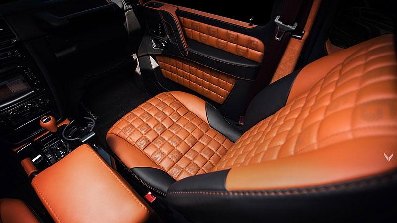 Mercedes-Benz G 55 AMG s pěknou porcí luxusu v interiéru: - fotka 2