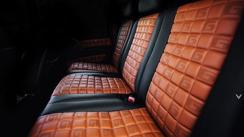 Mercedes-Benz G 55 AMG s pěknou porcí luxusu v interiéru: - fotka 3
