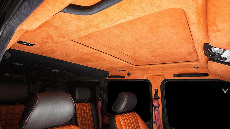 Mercedes-Benz G 55 AMG s pěknou porcí luxusu v interiéru: - fotka 4