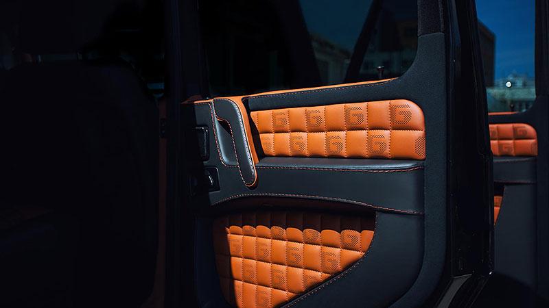 Mercedes-Benz G 55 AMG s pěknou porcí luxusu v interiéru: - fotka 6