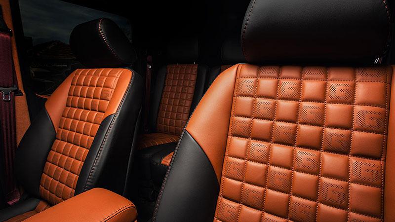 Mercedes-Benz G 55 AMG s pěknou porcí luxusu v interiéru: - fotka 7