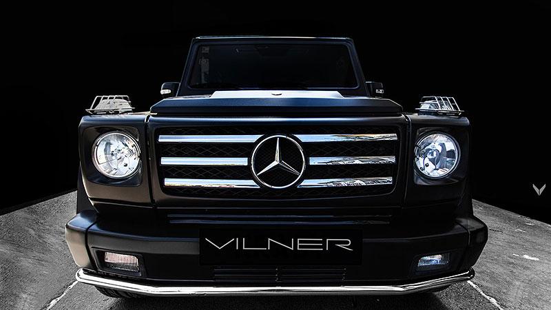 Mercedes-Benz G 55 AMG s pěknou porcí luxusu v interiéru: - fotka 11