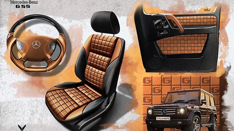 Mercedes-Benz G 55 AMG s pěknou porcí luxusu v interiéru: - fotka 13