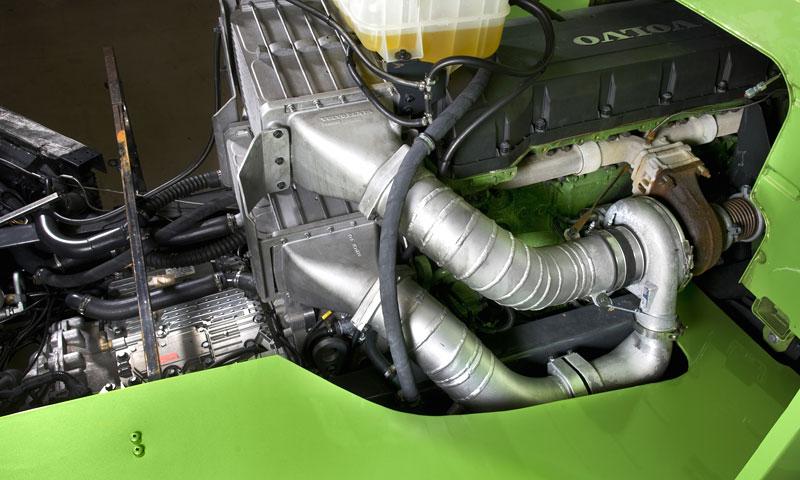 Mean Green: hybridní rekordman od Volvo Trucks: - fotka 6