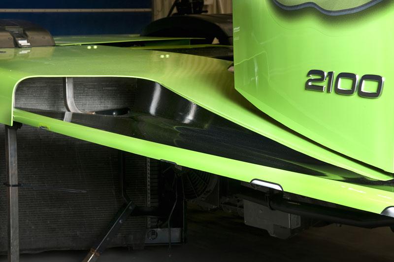 Mean Green: hybridní rekordman od Volvo Trucks: - fotka 12