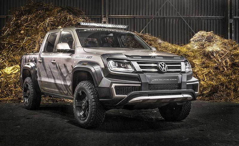 Carlex udělal z Volkswagenu Amarok drsnější off-road: - fotka 7
