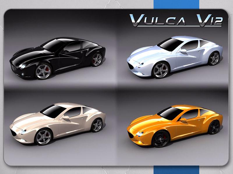 Ženeva živě: F&M Vulca V12: - fotka 5