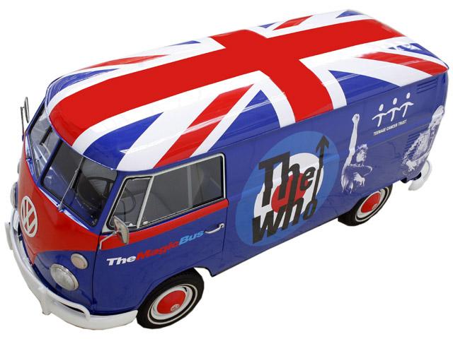 VW Magic Bus v bojových barvách kapely The Who: - fotka 2