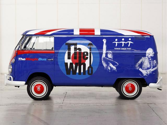 VW Magic Bus v bojových barvách kapely The Who: - fotka 3