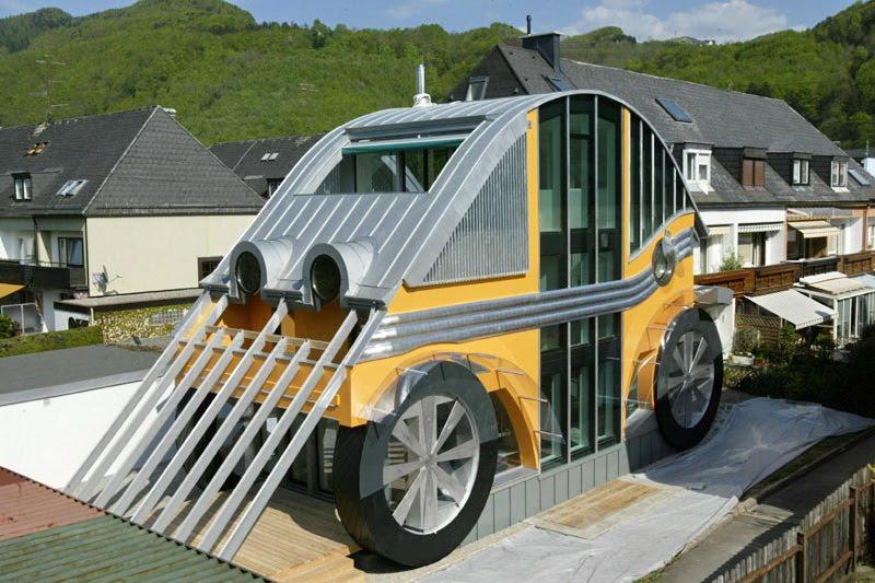 VW Beetle jako dům či restaurace?: - fotka 1