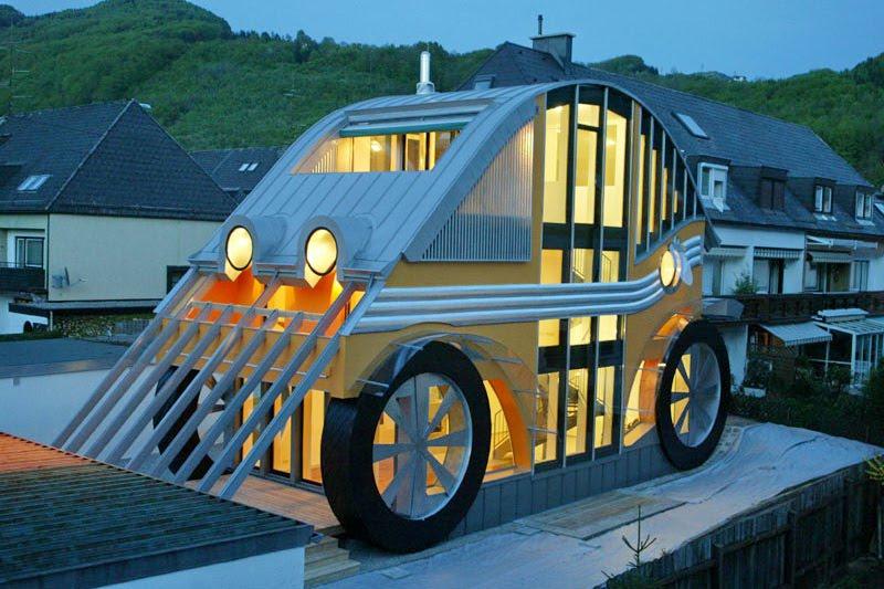 VW Beetle jako dům či restaurace?: - fotka 2