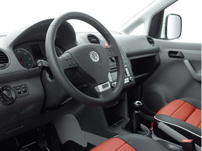 Volkswagen Caddy Carrera Cup Edition: téměř jako Porsche: - fotka 1