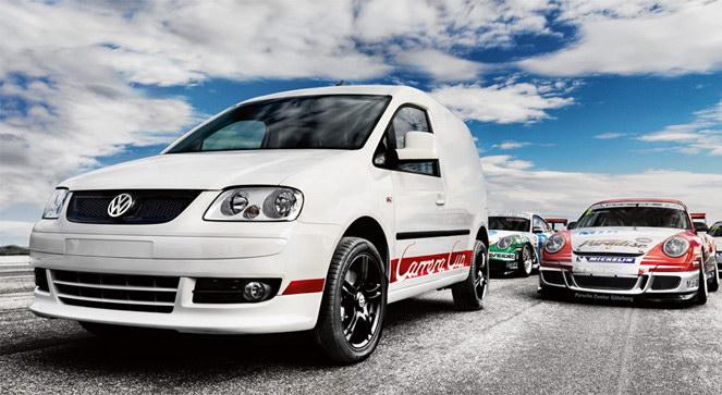 Volkswagen Caddy Carrera Cup Edition: téměř jako Porsche: - fotka 4